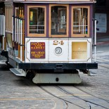 Cable Car, Fisherman's Wharf, San Francisco
