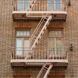 Fire escapes, San Francisco