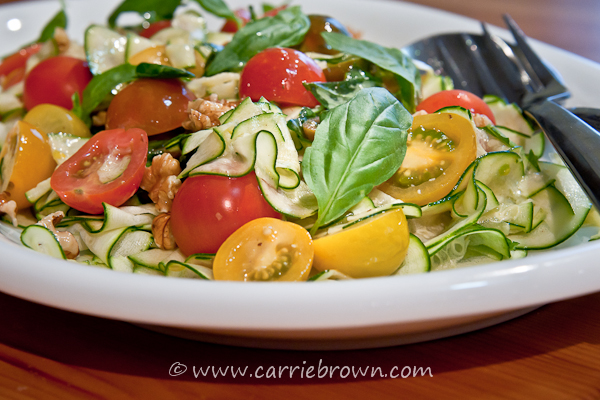 Zucchini and Cherry Tomato Salad