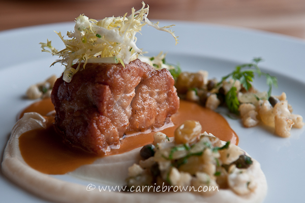 Sweetbreads at Book Bindery, Seattle