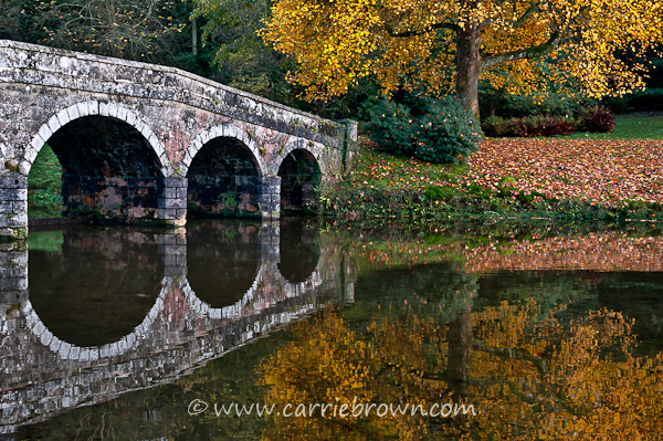 Autumn in Stourhead, England