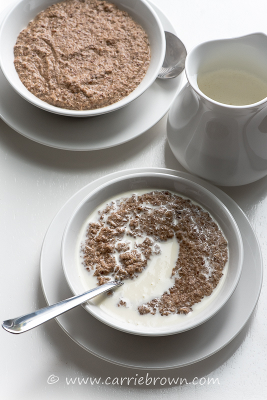 Hot and Nutty Cereal