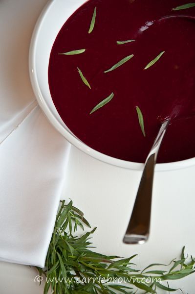 Beet and Tarragon Soup