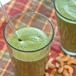 Green Smoothie - Pear Cashew Cream