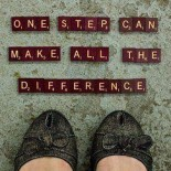 One Step Can Make All The Difference