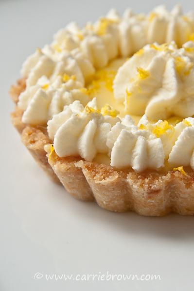 Lemon Mascarpone Tarts  |  Carrie Brown