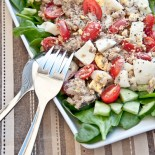 Tomato Sardine Salad | Carrie Brown