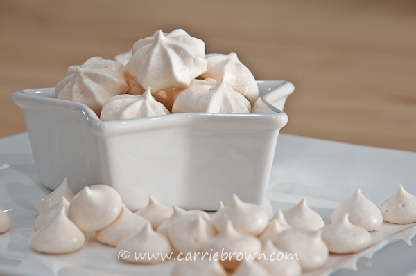 Sugar-free Meringue Cookies | Carrie Brown