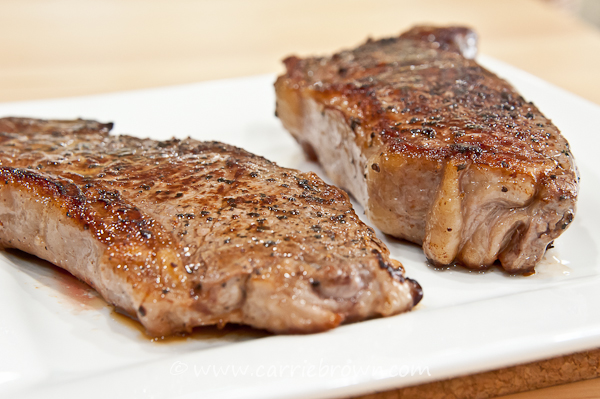 Grain-fed v. Grass-fed Steak