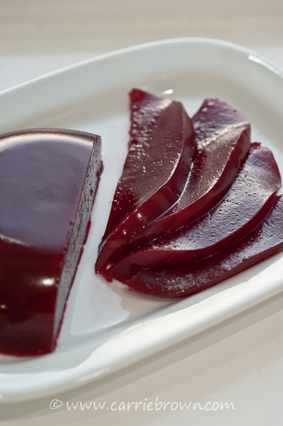 SANE Cranberry Sauce     Carrie Brown