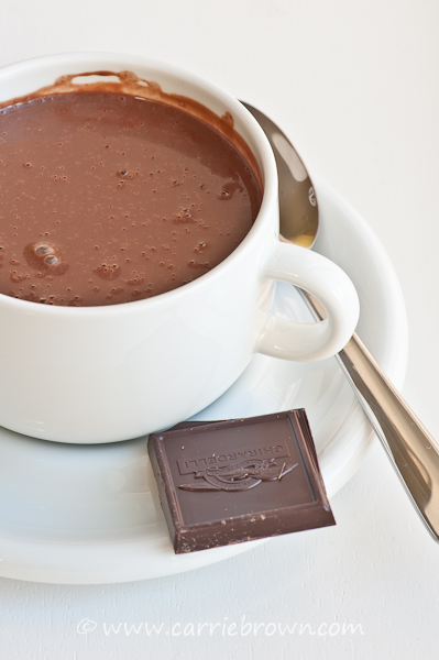SANE Hot Chocolate  |  Carrie Brown