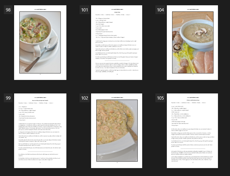 Eat Smarter! Soups by Carrie Brown
