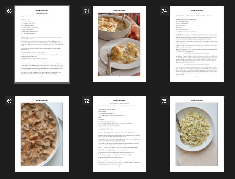 Eat Smarter! Smoothies & Sides Ebook Sample Pages