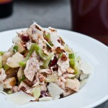 Chicken & Cranberry Salad at Purple Cafe, Kirkland