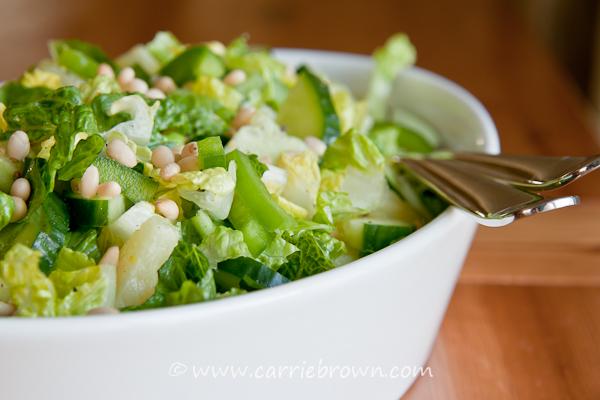 Pineapple Pinenut Salad