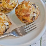 Leek and Mushroom Quiche Cups