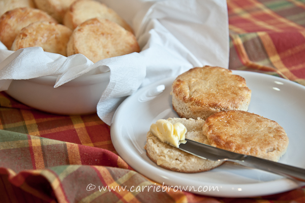 Cheesy Scones (Biscuits) | www.carriebrown.com