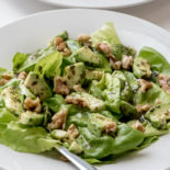 Avocado and Walnut Salad | Carrie Brown