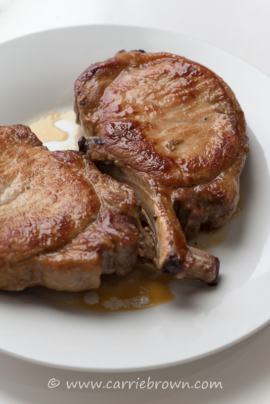 How To Cook A Pork Chop | Carrie Brown