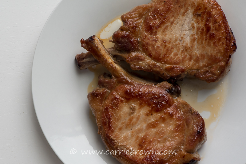 How To Cook Pork Chops | Carrie Brown