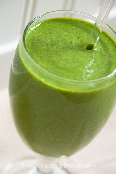 Green Smoothie - Orange Creamsicle
