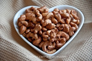 Caramel Orange Spice Cashews
