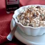 Cinnamon Raisin Rice Pudding