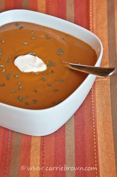 Tomato Salad Soup