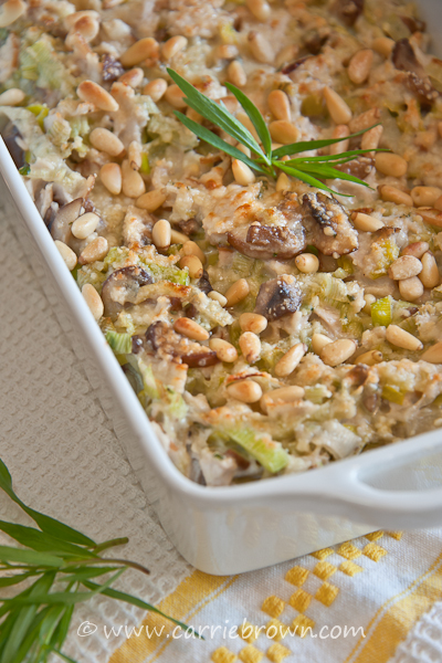 Carrie Brown - Tarragon Turkey with Leeks