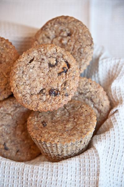 Cinnamon Pecan Muffins | Carrie Brown