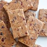 Carrie Brown | Cranberry Almond Protein Bars