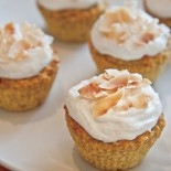 Carrie Brown | Orange Coconut Cupcakes