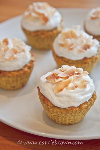 Carrie Brown | Orange Coconut Cupcakes