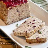 Turkey & Cranberry Meatloaf | Carrie Brown