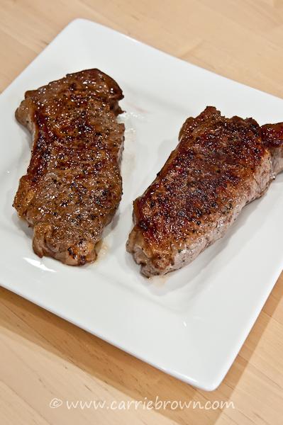 Grain-fed v. Grass-fed Steak