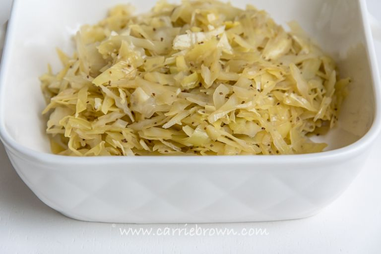 Braised Cabbage | Carrie Brown