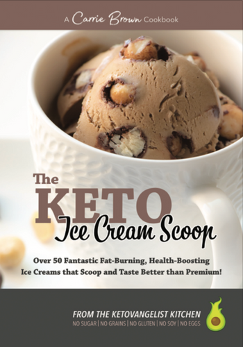 The KETO Ice Cream Scoop