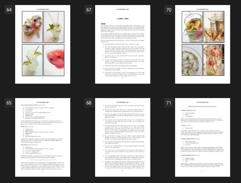 101 KETO Beverages Cookbook Sample Pages