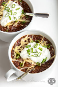 We Don't Need No Beans Chili