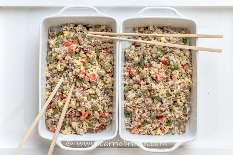 Double Pork Fried Rice | Carrie Brown