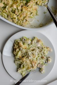 Creamy Chicken and Cabbage Casserole | Carrie Brown