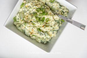 Avocado Salsa Salad | Carrie Brown