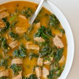 Sausage and Kale Soup | Carrie Brown