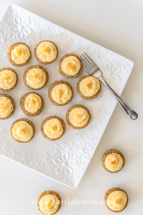 Apricot Cardamom Cupcakes