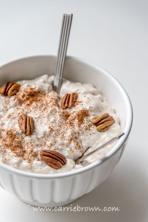 Cinnamon Pecan Cream | Carrie Brown