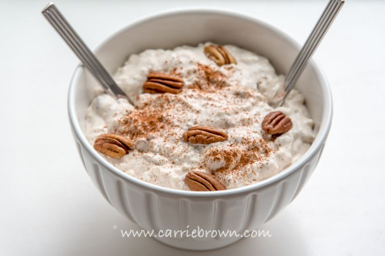 Cinnamon Pecan Cream | Carrie Brown