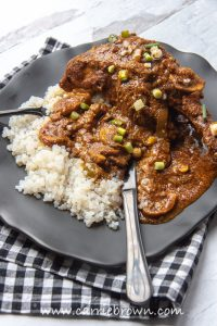 Cast Iron Curried Lamb Shanks | Yogi Parker