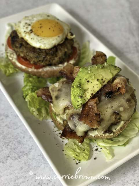 Super Mother Clucker Burgers | Yogi Parker