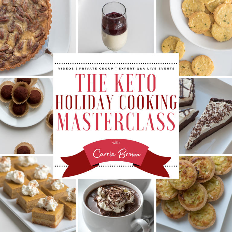 Keto Holiday Masterclass Carrie Brown