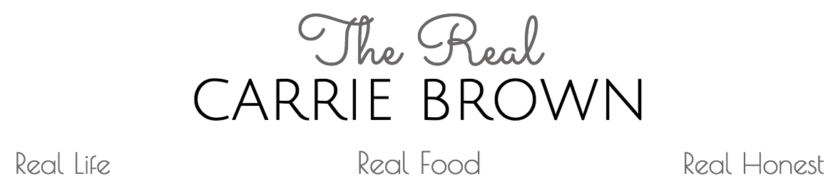 The Real Carrie Brown logo